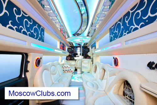 Interior of our H2 Hummer Limo Airport Transfer in Style