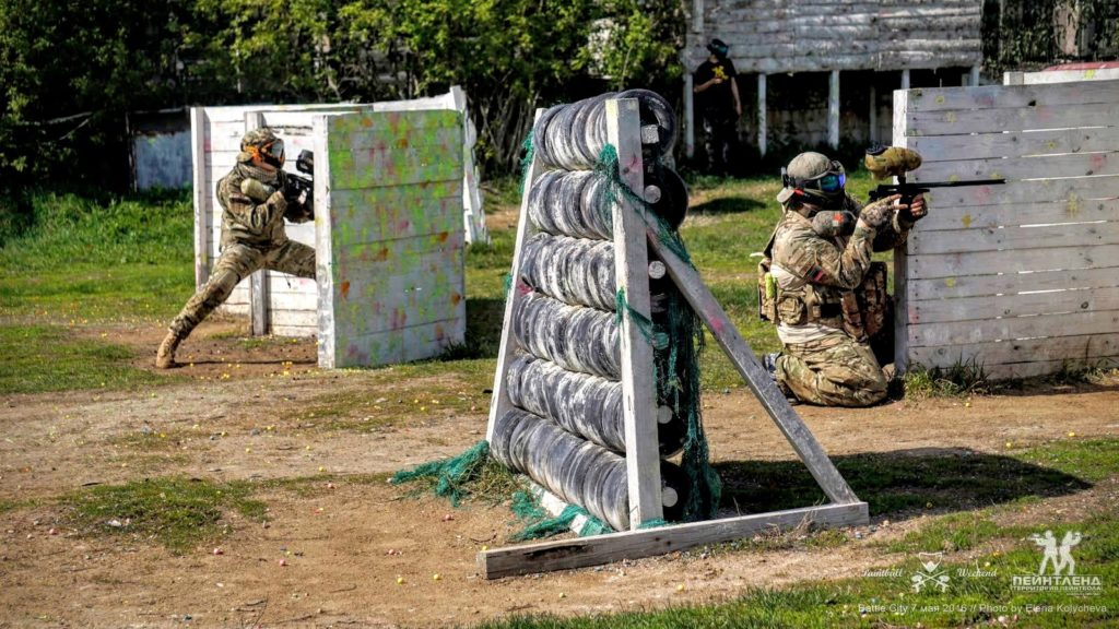 Paintball in Moscow